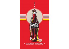 Drap de Plage Coca Cola Bottle